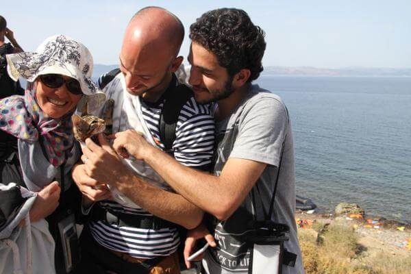 Situationen i Syrien: syriske flygtninge kæledyr