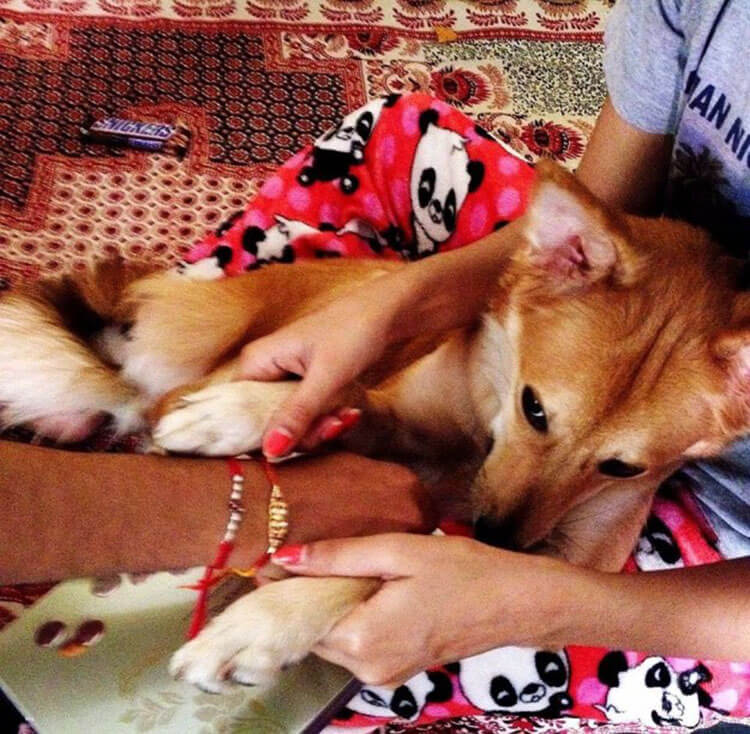Lucy med Karishma