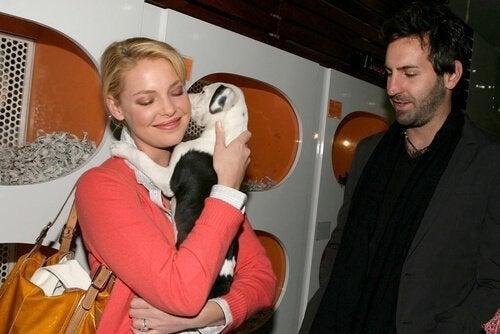 Berømtheder og deres kæledyr