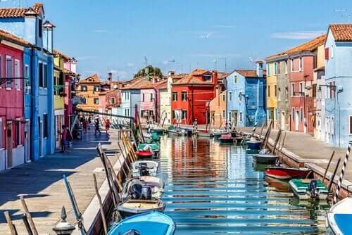 smukke italienske huse