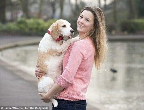 Eksempel på at redde en hund