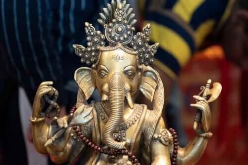 Statue af ganesha