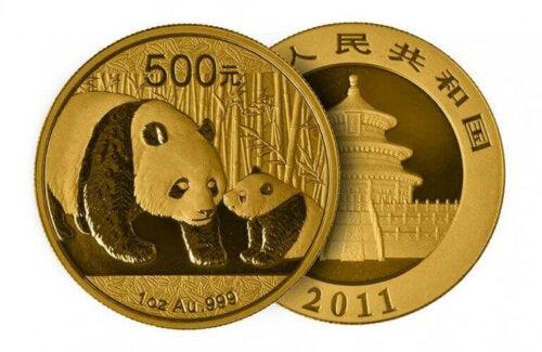 Kinas pandamønter er nogle af de mest populære mønter med billeder af dyr i verden