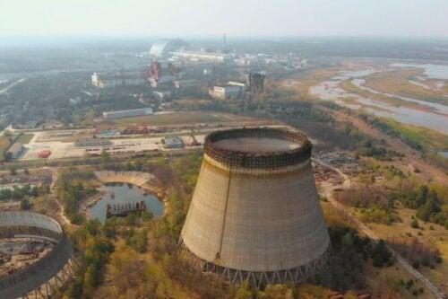 Atomreaktor i Tjernobyl