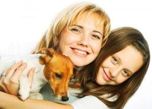 chien jaloux dans sa famille