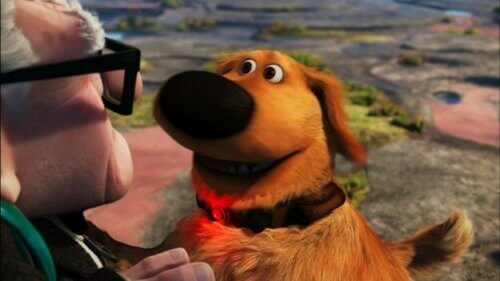 """Le célèbre chien Dug du film """"Là-haut"""" devient réel"""