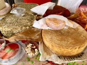 fromage Majorero des chèvres de Fuerteventura