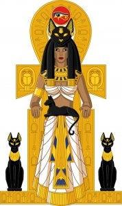 les chats dans l'Egypte Ancienne