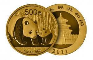 Pièce de monnaie chinoise.