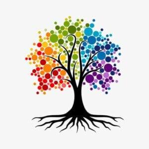 Une illustration représentant un arbre de vie.