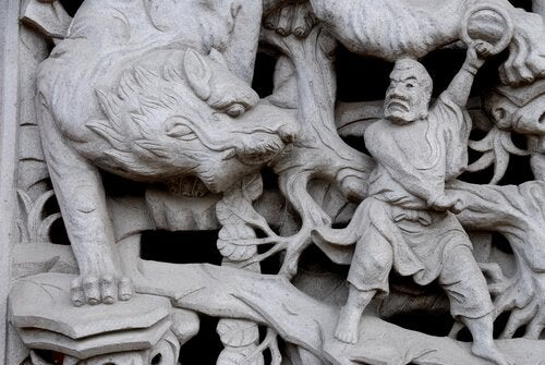 神聖な動物トラ 神聖 動物