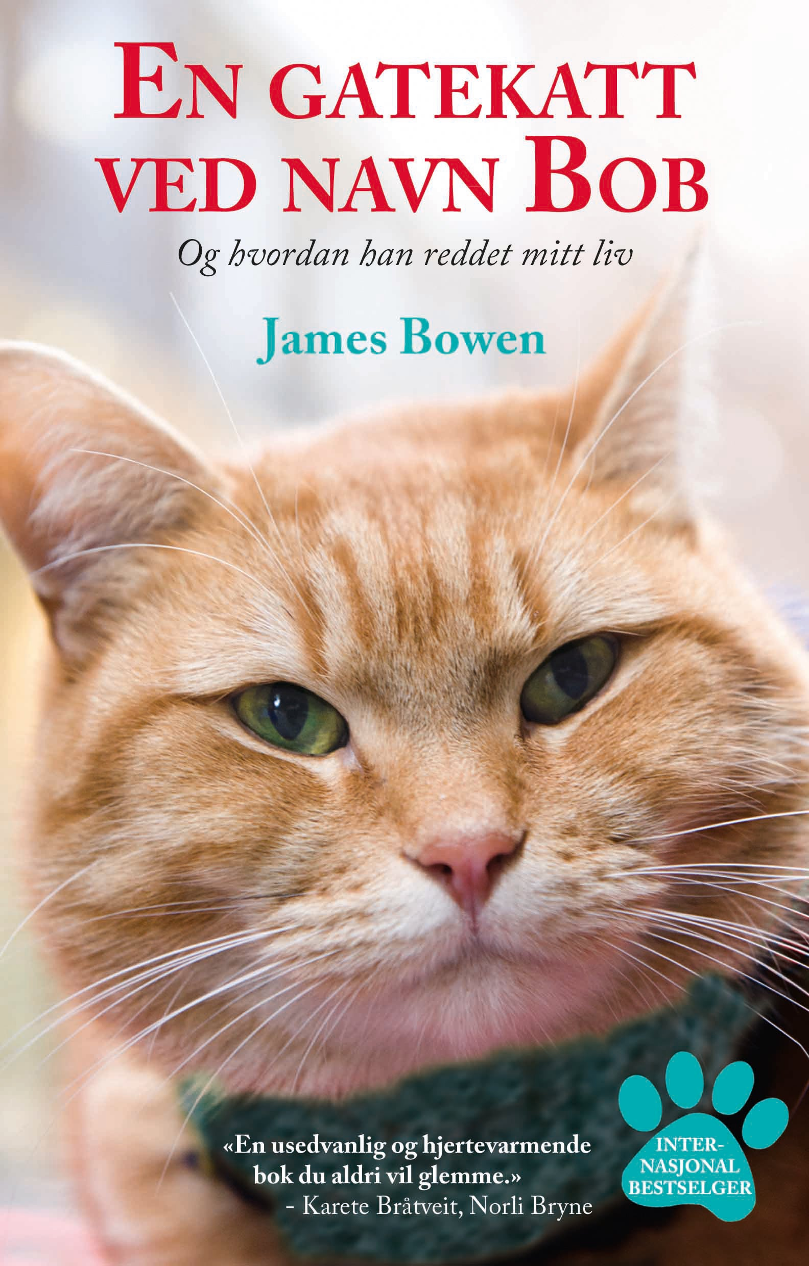 James Bowen og en gatekatt som heter Bob.
