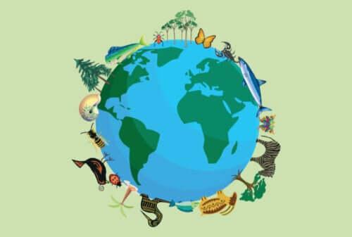 Hvor mange dyrearter finnes på planeten?