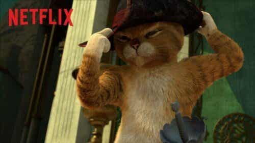 Netflix-serier: Pus med støvler har nå sin egen