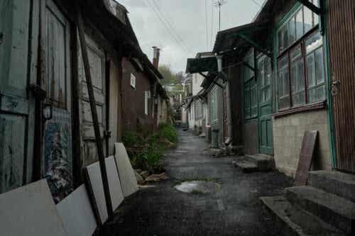 En gate i Russland
