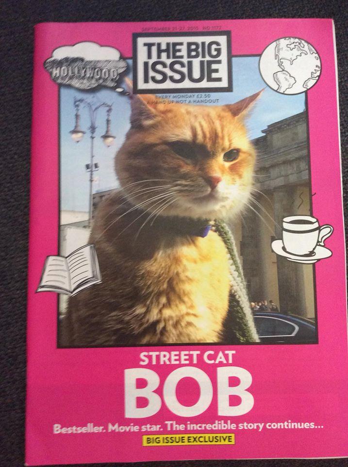 James Bowen en een straatkat genaamd Bob