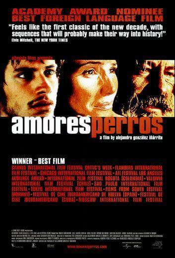 filmposter Amores Perros