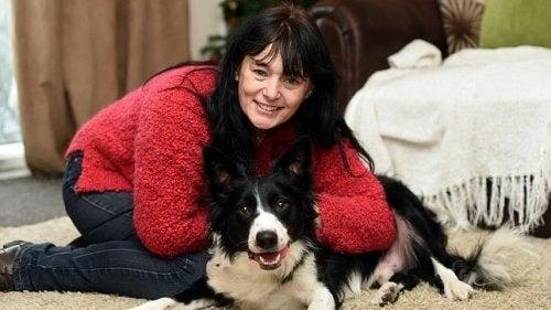 Pies wykrywa raka piersi u swojej właścicielki