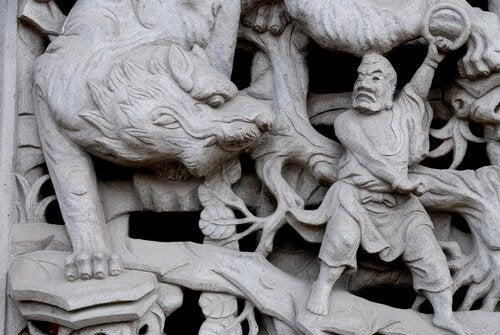 święte zwierzęta w chinach