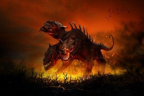 Trójgłowy pies bestia