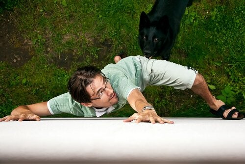 Ucieczka przed psem, psy wyczuwają nasz strach