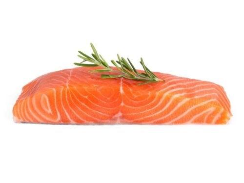 Porcja łososia