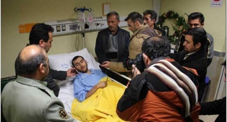 Mohammad på sjukhuset