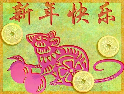 De olika djuren i den kinesiska djurkretsen