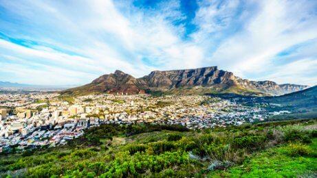 Berg i Kapstaden