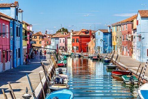 Venedig är ett bra resmål med hunden
