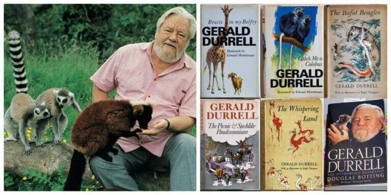Naturforskaren Gerald Durrell - Hängiven till naturen