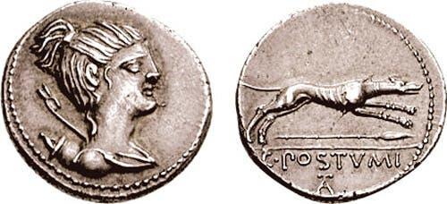 mynt med djurmotiv hundar