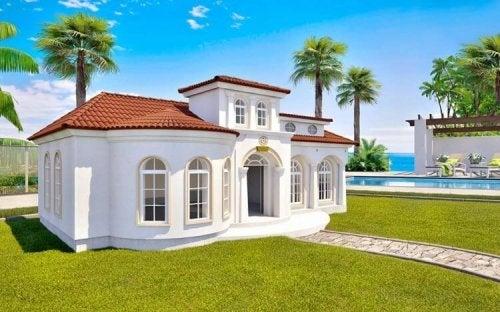 3D dog mansions