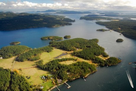 The San Juan Islands are a good place to travel with your pet