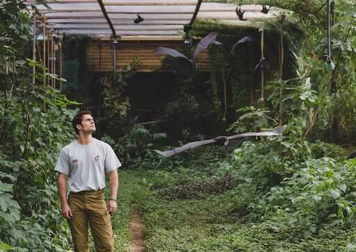 Henry Cavill at the Durrell Wildlife Conservation Trust.