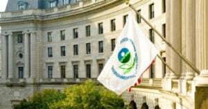 The Environmental Protection Agency flag.
