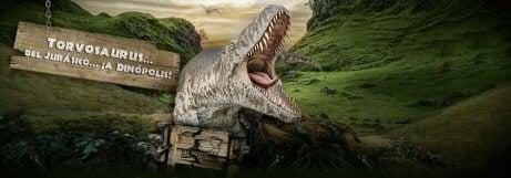 Dinópolis Theme Park places to see dinosaurs