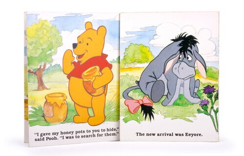 Famous Animals in Literature: a Winnie the Pooh book.