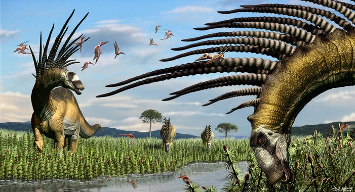 When and How Did Dinosaurs Appear?